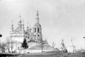 Вид храма в начале ХХ в.