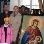 семья иконописцев Топорковых.