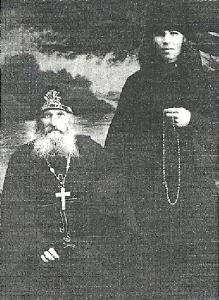 Иеросхимонах Антоний(Синюхин) и инок Александр(Комиссаров)