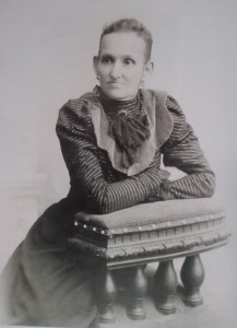Супруга Анна Никоноровна.